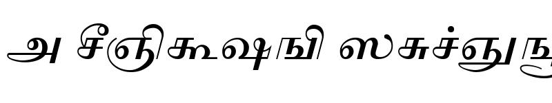 Preview of AkrutiTml2 Bold