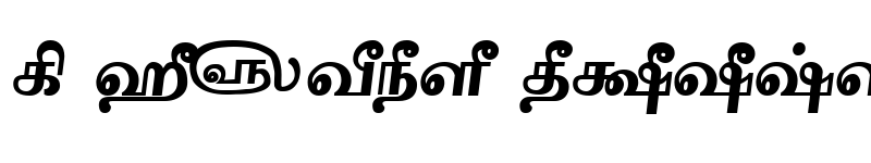Preview of Tam-Tamil203 Bold